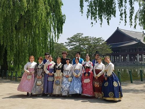 Traditional Palace & Hanbok Experience