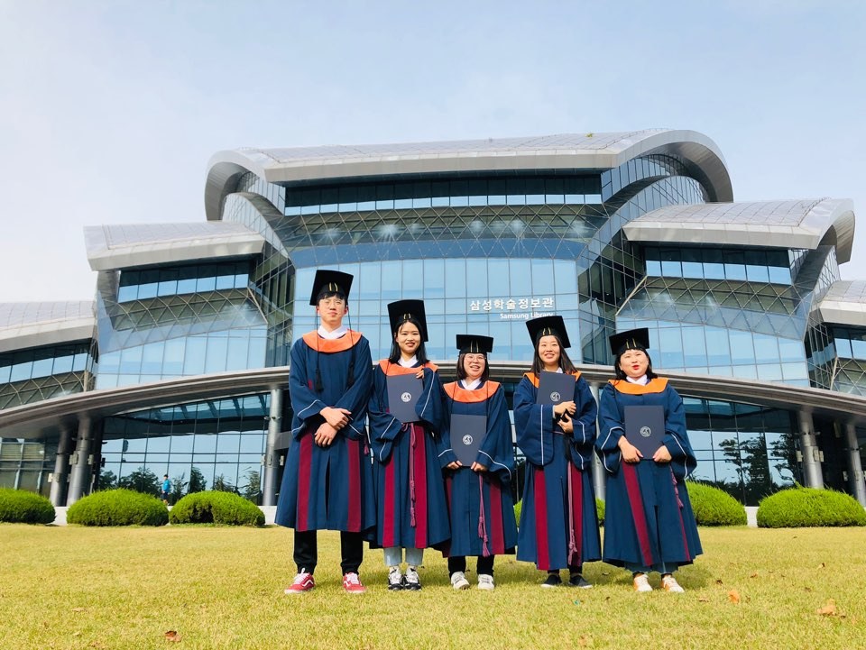 19-4th Session Sungkyun Language Institute in Suwon campus Graduation